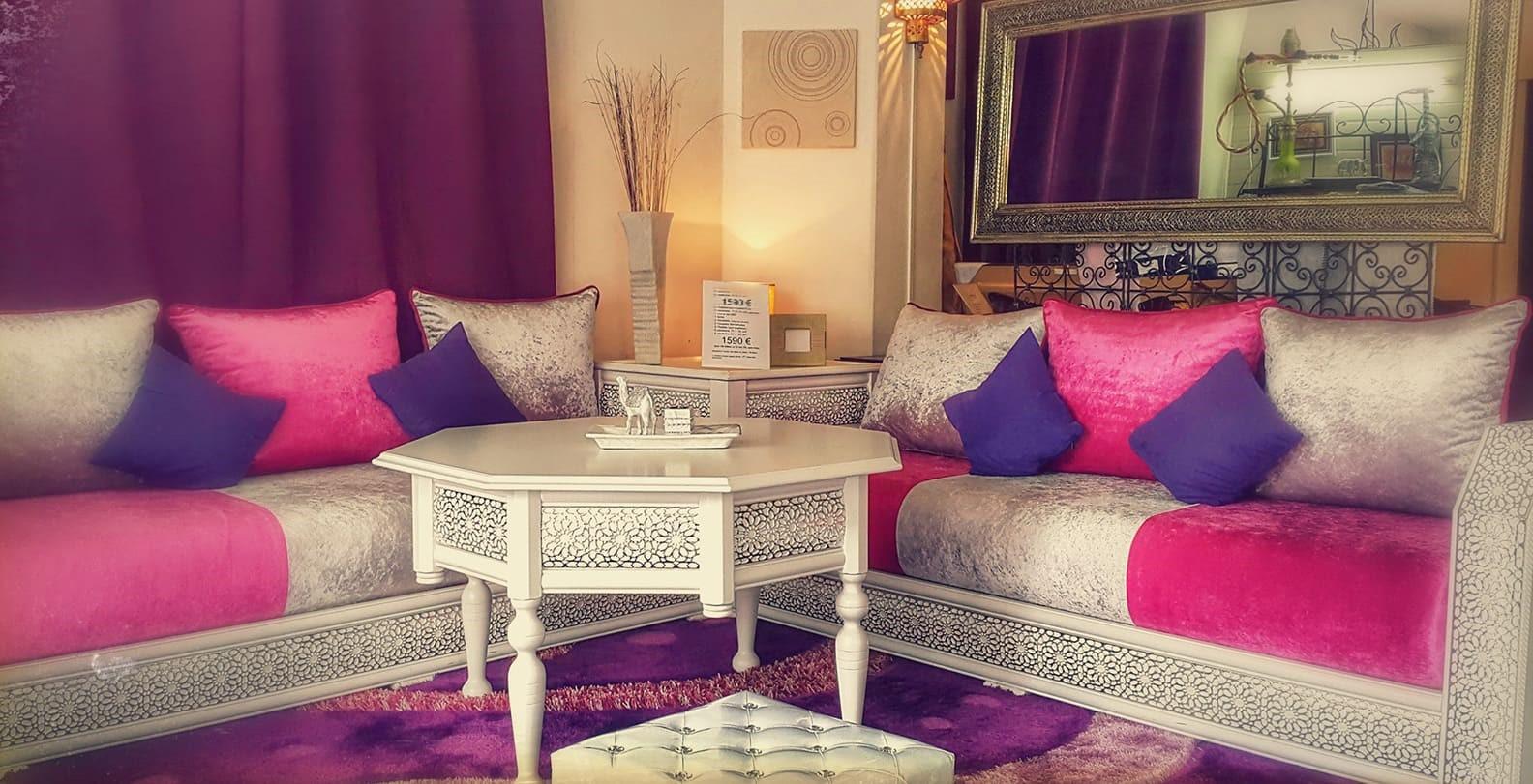 Idées pour décoration salon marocain moderne - Déco Salon Marocain
