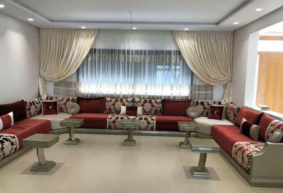 Décoration salon marocain moderne 2020 : Photos d'inspirations - Déco Salon Marocain