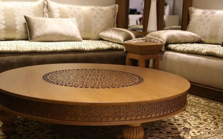 Modeles De Table Basse Pour Salon Marocain Deco Salon Marocain