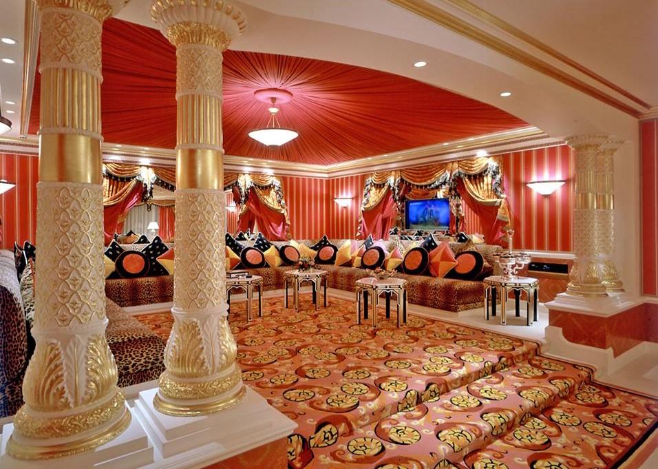 Salon marocain beldi : Décoration de Riad - Déco Salon Marocain